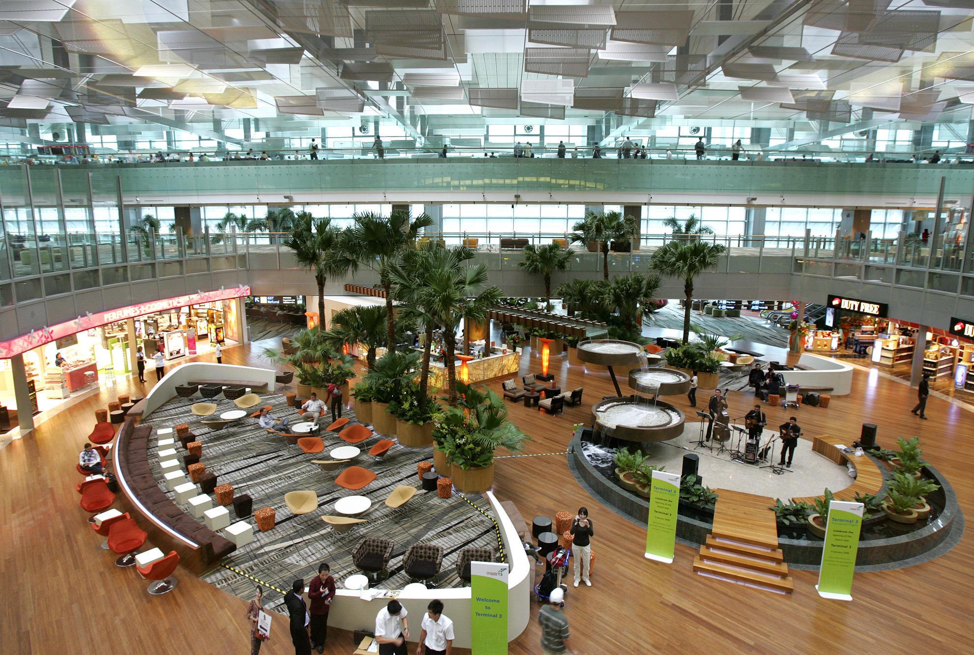 Singapore New Terminal